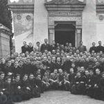 Foto di gruppo davanti alla cappella del Beato Mario Fani, Viterbo (Paolini Foto)