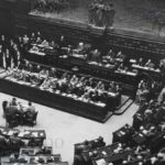 Prima seduta dell'Assemblea costituente, Roma, 25 giugno 1946, (Archivio Camera dei Deputati)