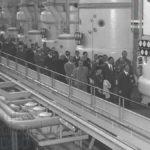 Colombo inaugura lo stabilimento dello zuccherificio del Rendina, Melfi, 16 ottobre 1960 (Foto Leone)