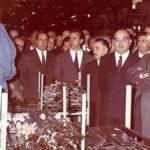 Inaugurazione del nuovo stabilimento Ignis Sud, Napoli
