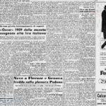 La Stampa, 12 gennaio 1960