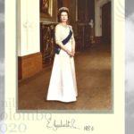 Ritratto autografato della Regina Elisabetta II