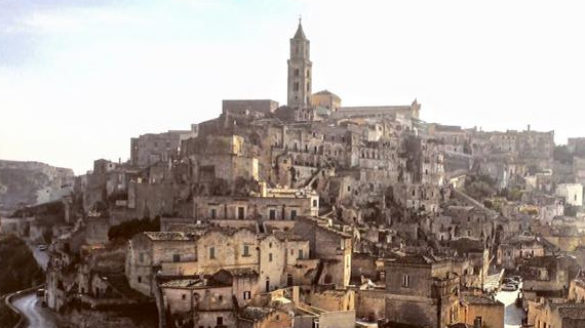 Cerimonia di intitolazione del belvedere Sant'Agostino a Emilio Colombo