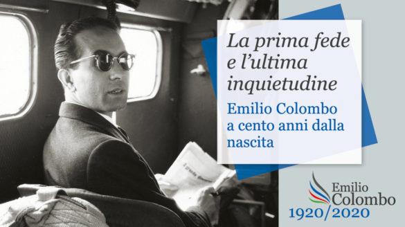Apre al pubblico, dal 3 settembre, la mostra La prima fede e l'ultima inquietudine Emilio Colombo a cento anni dalla nascita