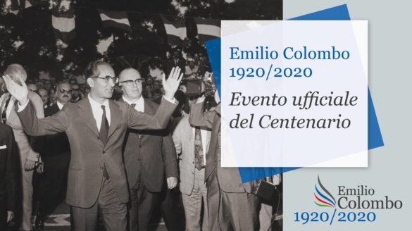 Il 18 settembre, al Teatro Stabile di Potenza, un evento-dibattito in occasione del Centenario della nascita di Emilio Colombo
